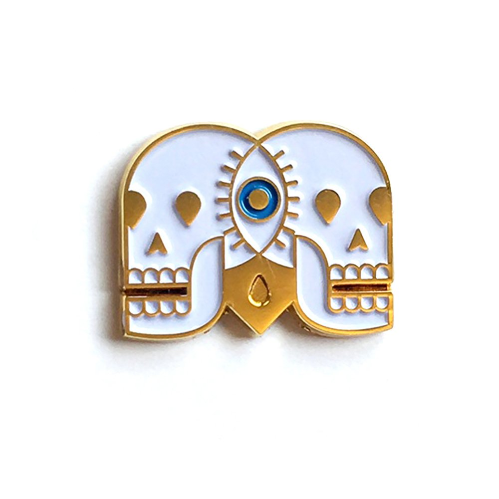 Eye See Us Forever Pin