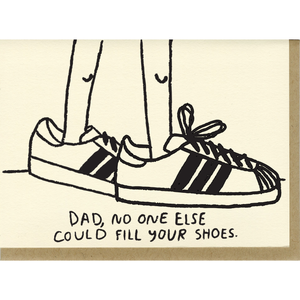 Fill Your Shoes Card