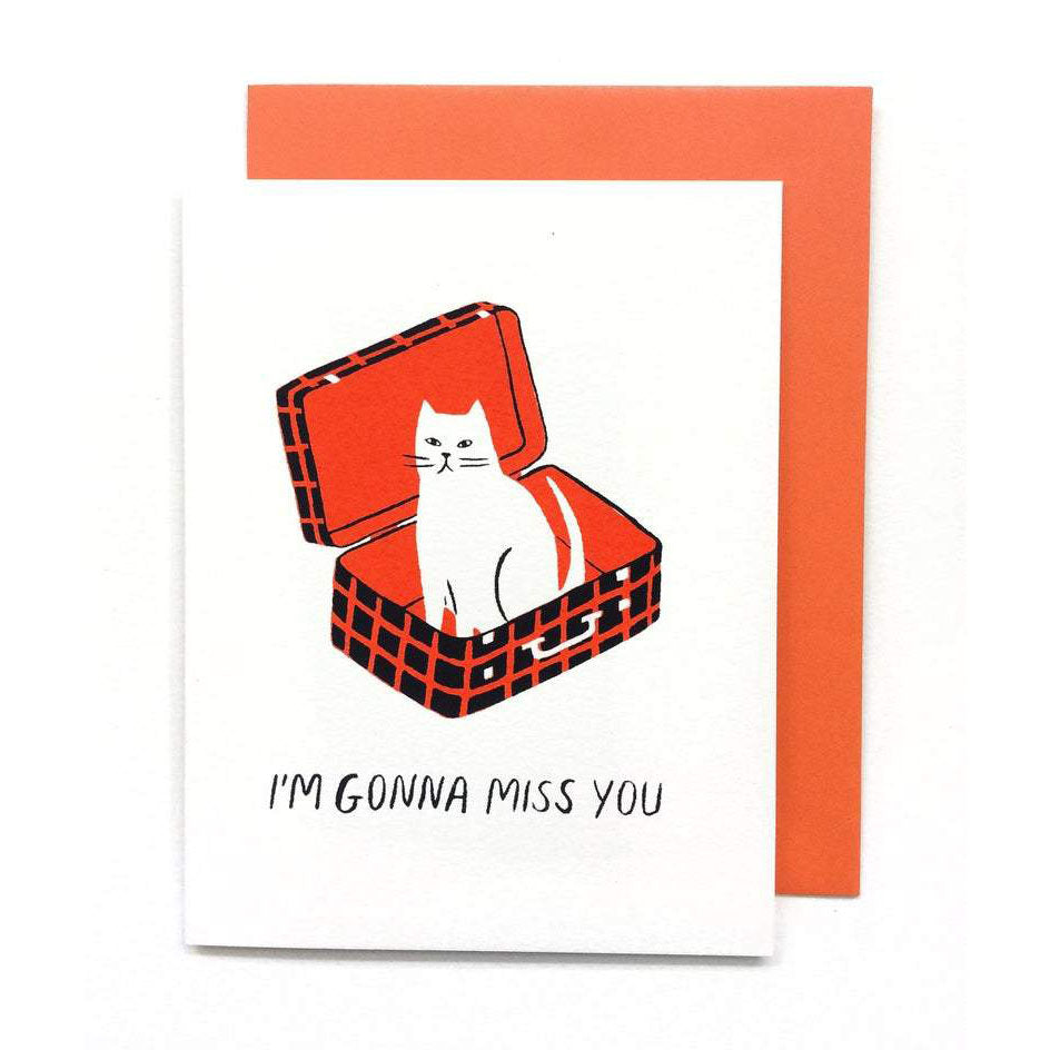 I'm Gonna Miss You Card