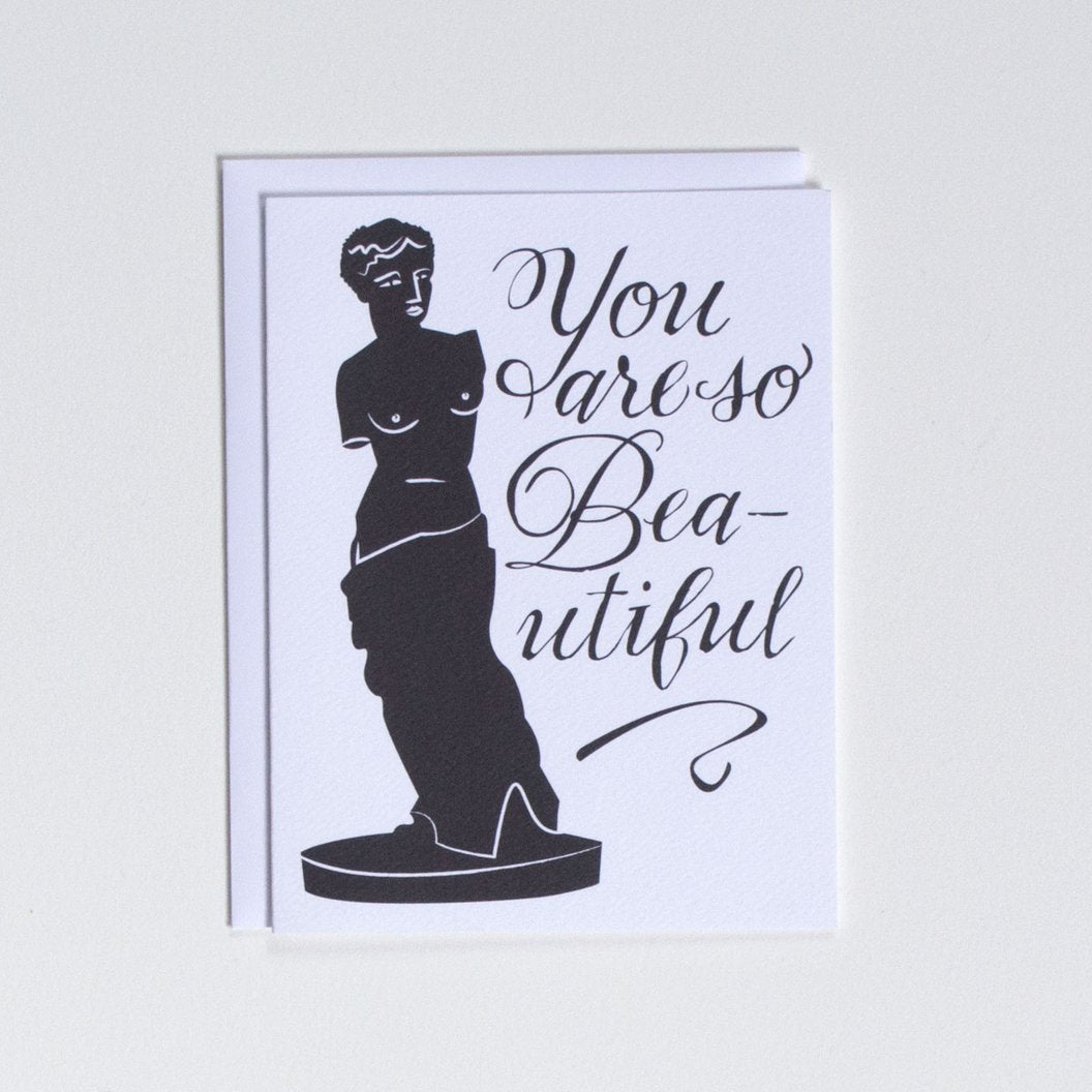 You Are So Beautiful Card