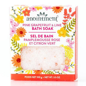 Pink Grapefruit & Lime Bath Soak