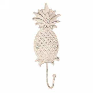 Pineapple Wall Hook Ivory Large