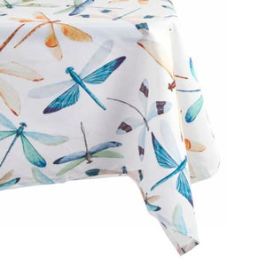 Dragonfly Print Tablecloth