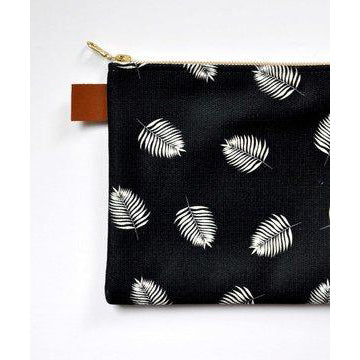 Palms Canvas Pouch