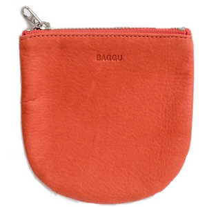 Small Leather U Pouch