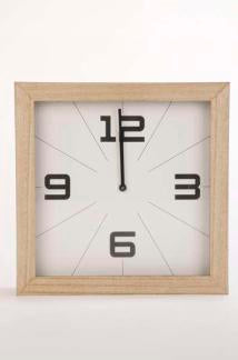 Natural Trim Wall Clock
