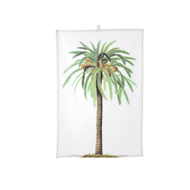 Palm Tropics Tea Towel