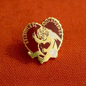 Relentless Adolescence Lapel Pin