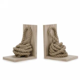 Bookends S/2 Rope Knot