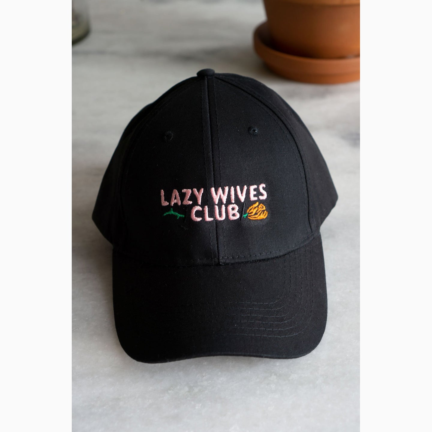 Lazy Wives Club Baseball Cap