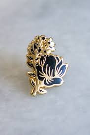 Summer Roses Lapel Pin