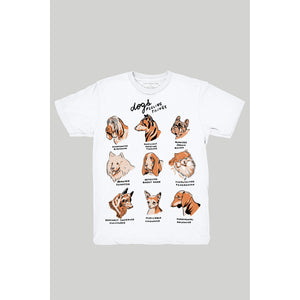 Dogs Feeling Things T-Shirt