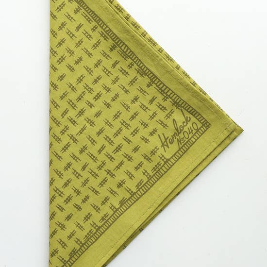 Premium Cotton Bandana - Hunter