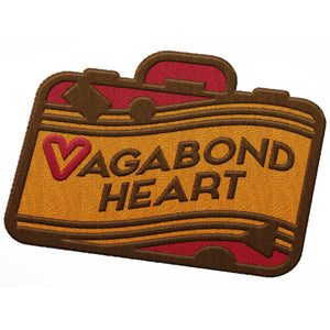 Vagabond Heart Logo Patch