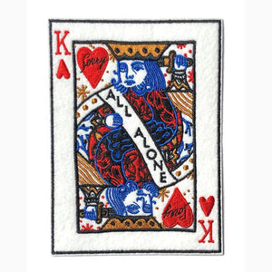 King Of All Alone Patch