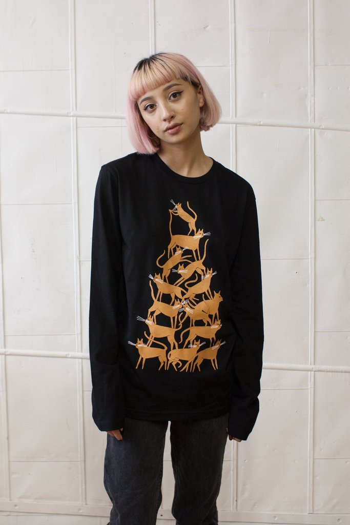 Pile Up Long Sleeved T-Shirt