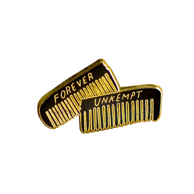 Forever Unkempt Lapel Pin