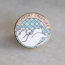Creature Comforts Lapel Pin
