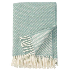Velvet Throw Duck Egg Blue