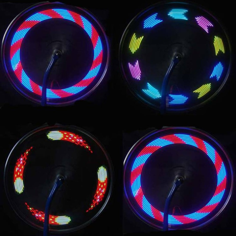 Automobiles & Motorcycles 14 Led Motorcycle Cycling Bicycle Bike Wheel Signal Tire Spoke Light 30 Changes 3 Modes Bicycle Spoke Light Free Shipping #30 Online Shop