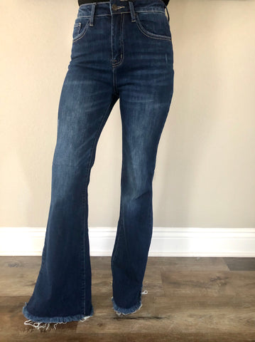 Risen Flare Jeans