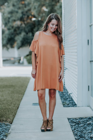 Lori Open Shoulder Dress