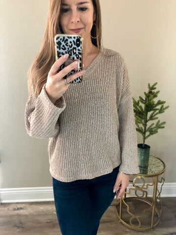 Andrea Knit Top