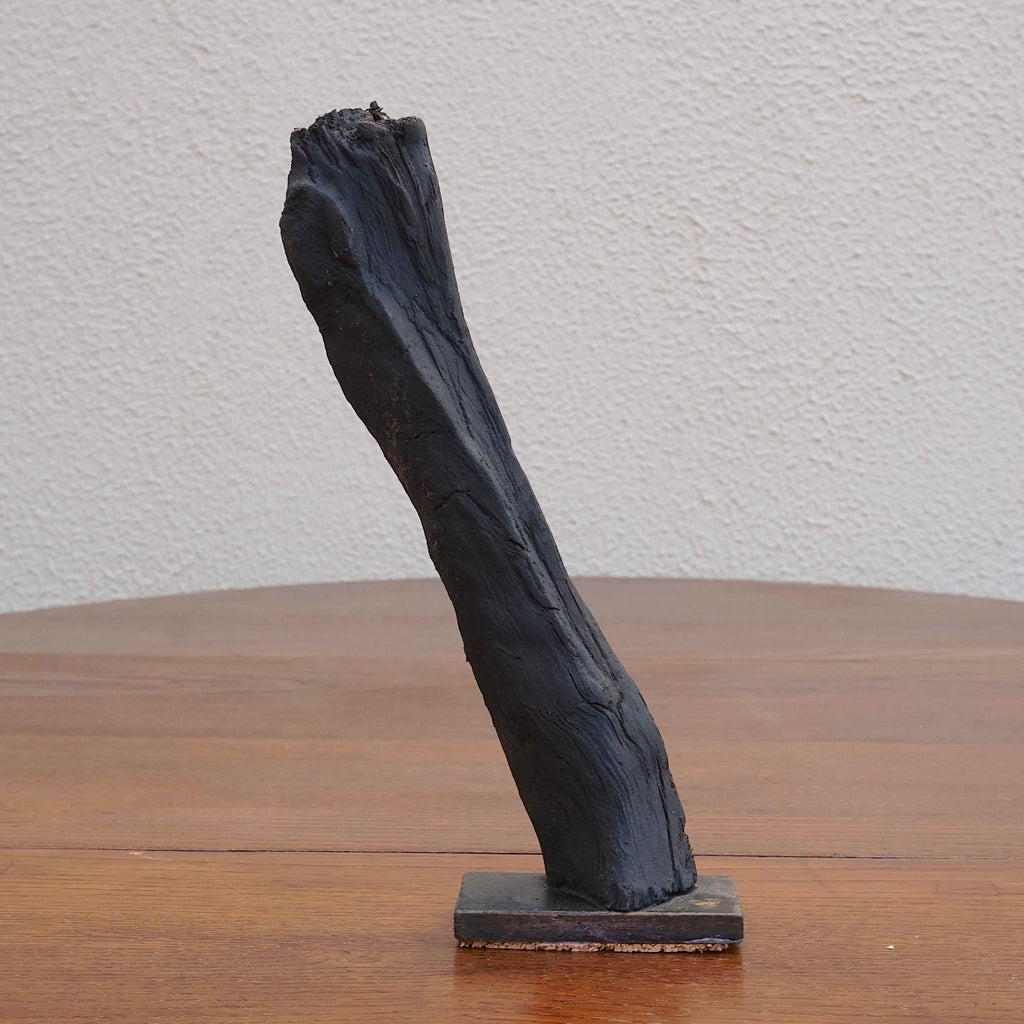 Lean - Bog Oak Sculpture