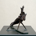 Lizard - Bog Oak Sculpture