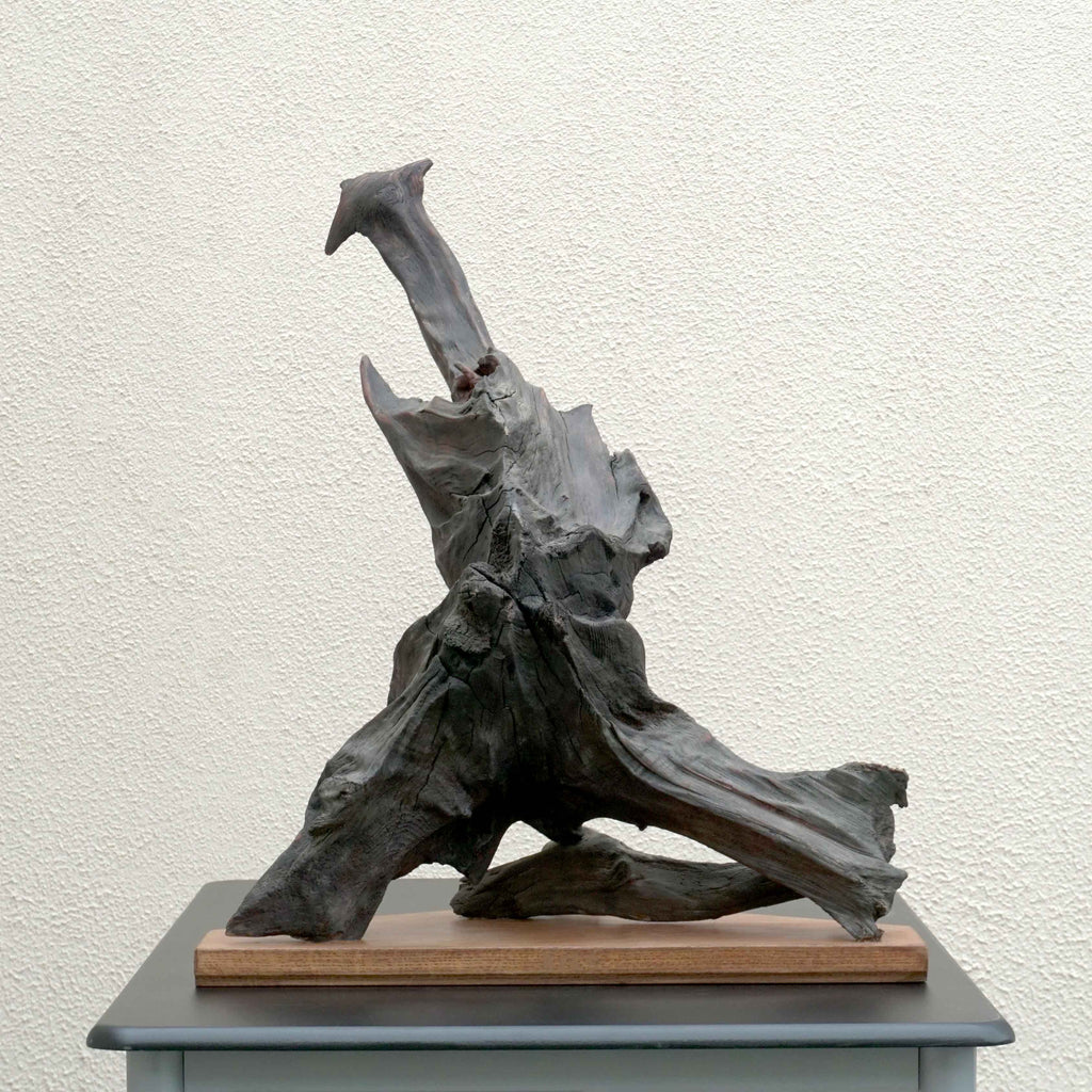Axe - Bog Oak Sculpture