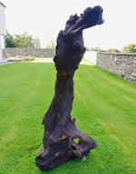 Rabbit - Bog Oak Sculpture