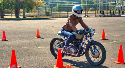 motorcycle course test