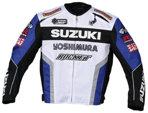 SUZUKI MOTORCYCLE TEXTILE OXFORD JACKET
