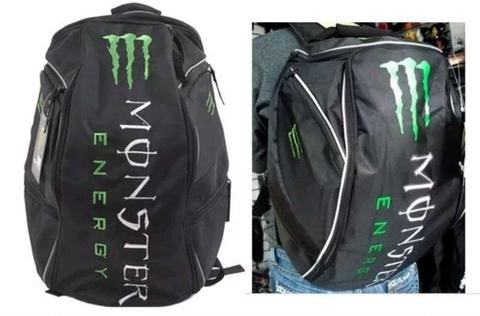 MONSTER ENERGY MOTORCYCLE HELMET BACKPACK