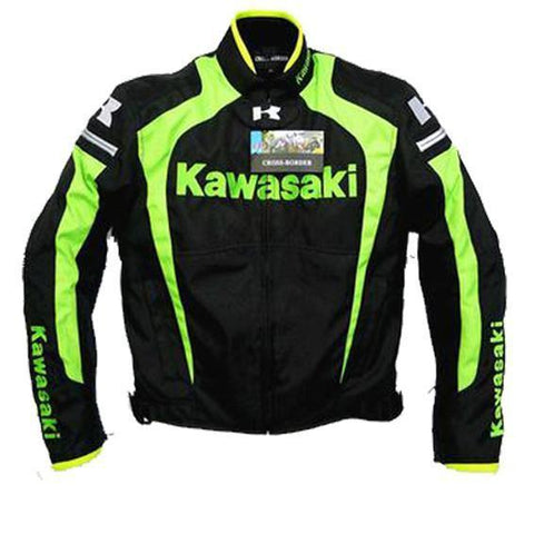 Kawasaki Motorcycle Jacket With Protectors