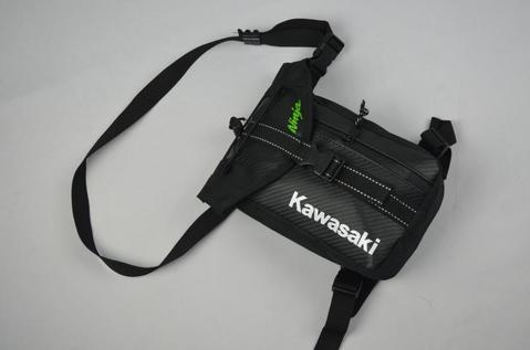 KAWASAKI DROP LEG BAG MOTORCYCLE TOOL BAG