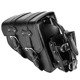 Motorcycle Swingarm Saddle Bag Storage Tool Pouch for Sportster Honda Yamaha Kawasaki Suzuki