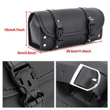 Motorcycle Tool Bag Saddlebags PU Leather Storage Tool Pouch
