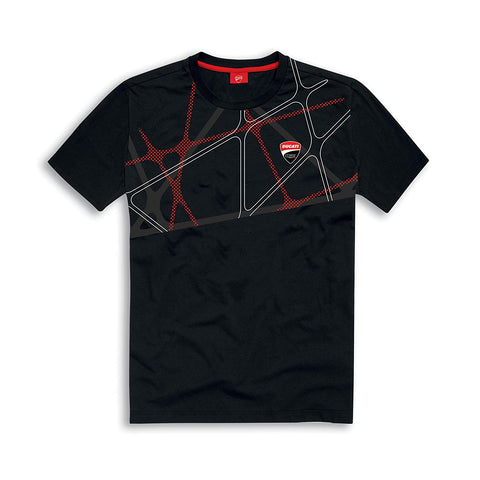Ducati Corse DC 19 Graphic Net Short Sleeve T-Shirt
