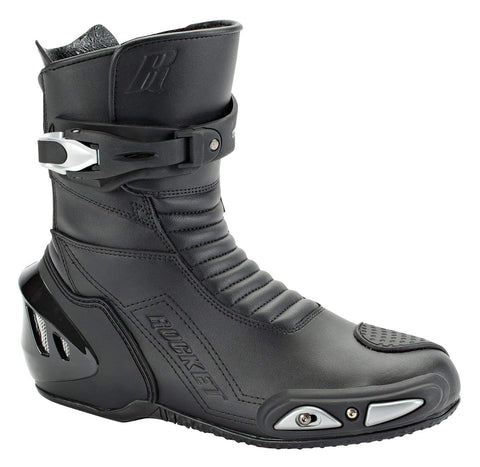 Joe Rocket Super Street RX14 Men's Leather Motorcycle Riding Boots