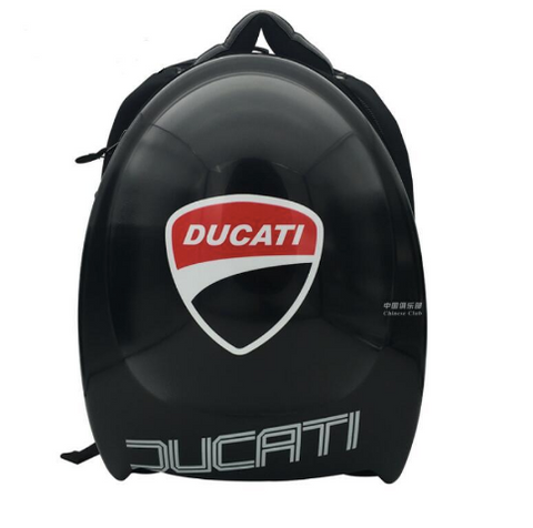 Ducati Hard Shell Motorcycle Backpack