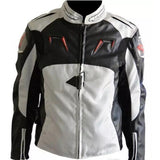 Alpinestars Jackets S / Black-White Alpinestars AL-010 Oxford Leather Jacket