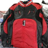 Alpinestars Jackets S / Red-Black Alpinestars AL-010 Oxford Leather Jacket
