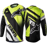 Alpinestars t-shirt XS / Black-Yellow 2018 LairschDan ALPINESTARS OFF ROAD MOTOCROSS JERSEY