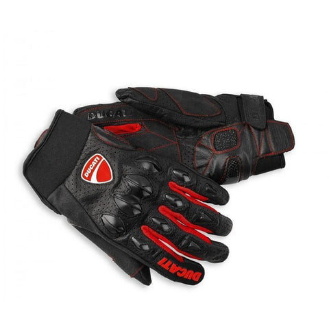 Ducati Flow Leather Short Gloves