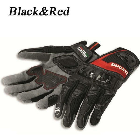 Ducati Spidi City 2 Leather Textile Motorcycle Gloves