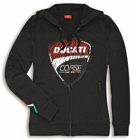 Ducati Corse Sketch Hooded Sweater