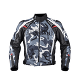 Duhan Jackets Camouflage Color / L DUHAN Oxford Textile Motorcycle Jacket