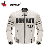 Duhan Motorcycle Jacket Beige / M DUHAN D-103 Summer Motorcycle Jacket