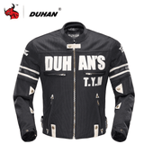 Duhan Motorcycle Jacket Black / M DUHAN D-103 Summer Motorcycle Jacket